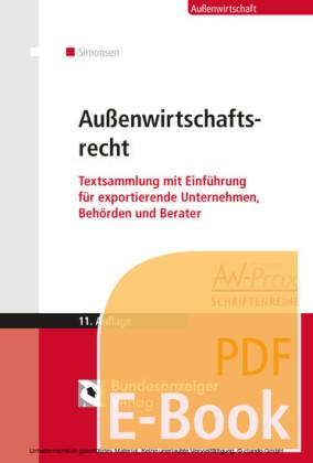 Außenwirtschaftsrecht (E-Book)