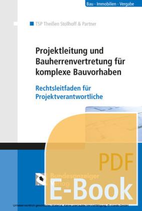 Projektleitung und Bauherrenvertretung für komplexe Bauvorhaben (E-Book)