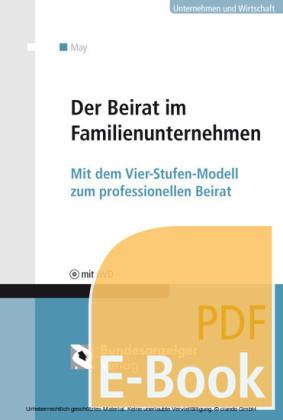 Der Beirat im Familienunternehmen (E-Book)