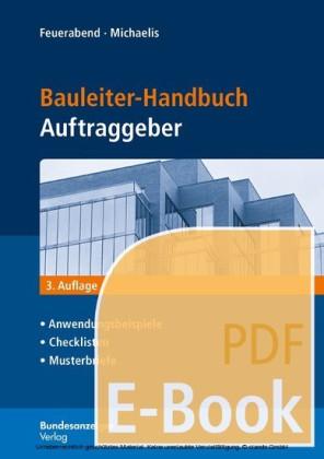 Bauleiter-Handbuch Auftraggeber (E-Book)