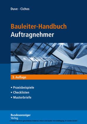 Bauleiter-Handbuch Auftragnehmer (E-Book)