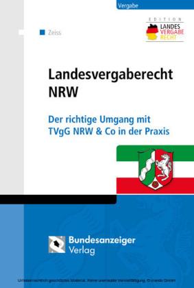 Landesvergaberecht NRW (E-Book)