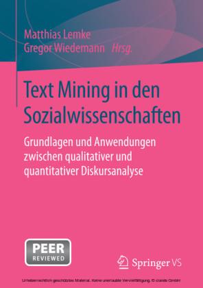 Text Mining in den Sozialwissenschaften