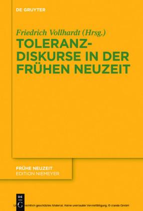 Toleranzdiskurse in der Frühen Neuzeit