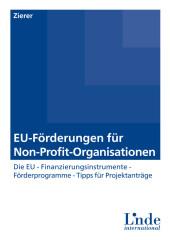 EU-Förderungen für Non-Profit-Organisationen