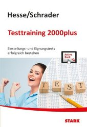 Hesse/Schrader: Testtraining 2000plus Cover