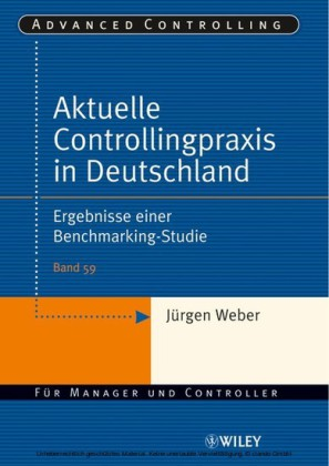 Aktuelle Controllingpraxis in Deutschland