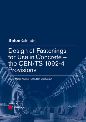 Design of Fastenings for Use in Concrete