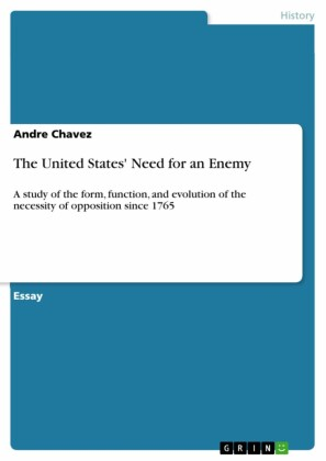 The United States' Need for an Enemy