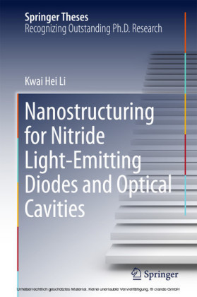 Nanostructuring for Nitride Light-Emitting Diodes and Optical Cavities