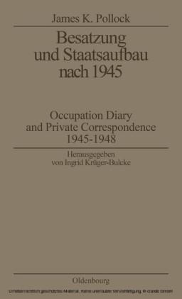 Besatzung und Staatsaufbau nach 1945