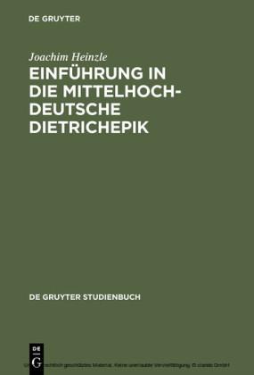 Einführung in die mittelhochdeutsche Dietrichepik