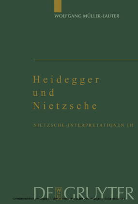 Heidegger und Nietzsche