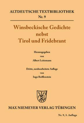 Winsbeckische Gedichte nebst Tirol und Fridebrant
