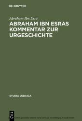 Abraham ibn Esras Kommentar zur Urgeschichte