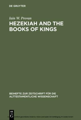 Hezekiah and the Books of Kings