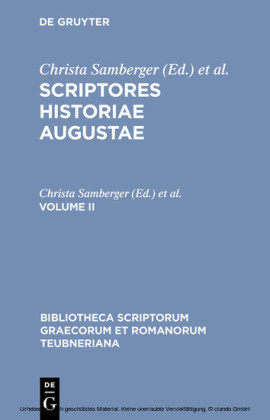 Scriptores historiae Augustae. Volume II