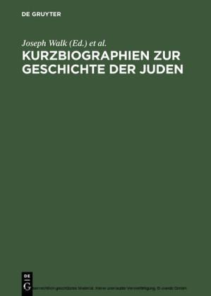Kurzbiographien zur Geschichte der Juden