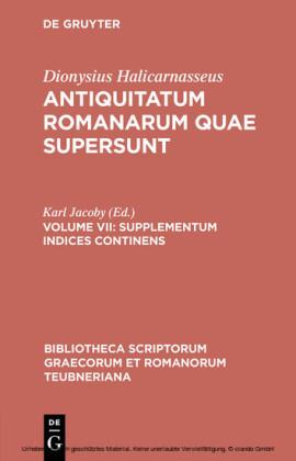 Supplementum Indices Continens