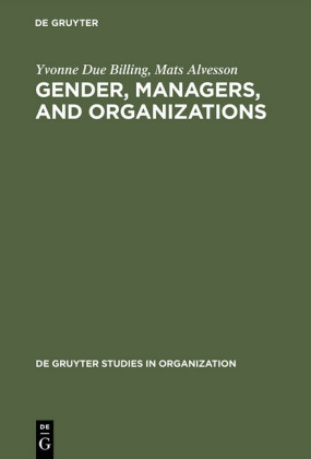 Gender, Managers, and Organizations