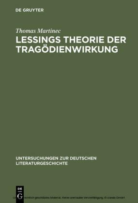 Lessings Theorie der Tragödienwirkung