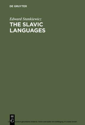 The Slavic Languages