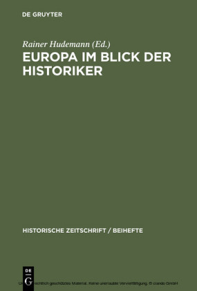 Europa im Blick der Historiker