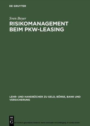 Risikomanagement beim Pkw-Leasing
