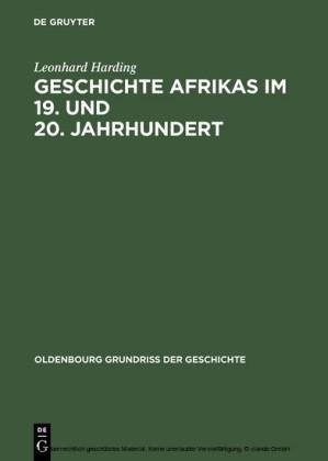 Geschichte Afrikas im 19. und 20. Jahrhundert