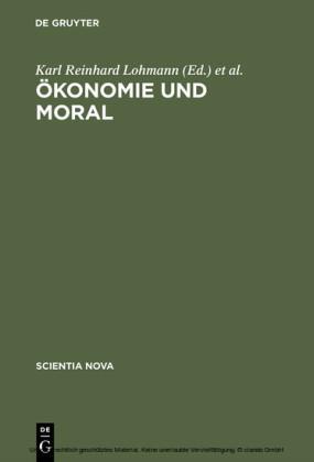 Ökonomie und Moral