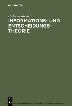 Informations- und Entscheidungstheorie