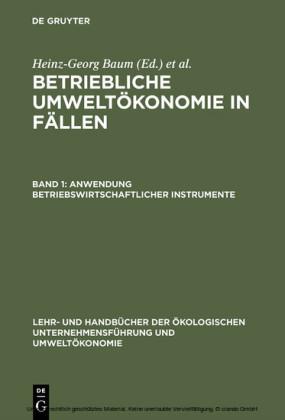 Anwendung betriebswirtschaftlicher Instrumente