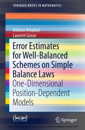 Error Estimates for Well-Balanced Schemes on Simple Balance Laws