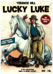 Lucky Luke Collection, 5 DVDs Cover
