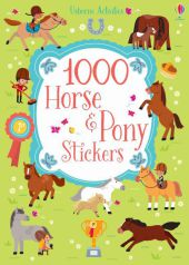 1000 Horse and Pony stickers Cover