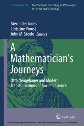 A Mathematician's Journeys