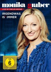 Monika Gruber - Irgendwas is immer, 1 DVD Cover