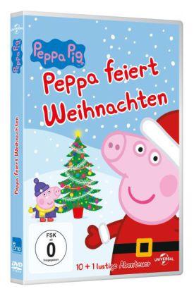 Peppa Pig - Peppa feiert Weihnachten, 1 DVD