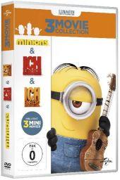 Minions - Boxset, 3 DVD Cover