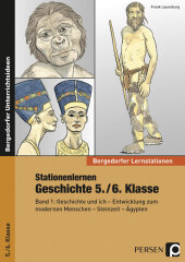 Stationenlernen Geschichte 5./6. Klasse Cover