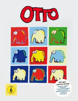 OTTO - 50 Jahre Bühnenjubiläum, 2 DVDs (Kunst Edition)