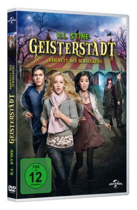 R.L. Stine's Geisterstadt: Kabinett des Schreckens, 1 DVD
