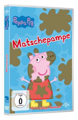 Peppa Pig - Matschepampe, 1 DVD