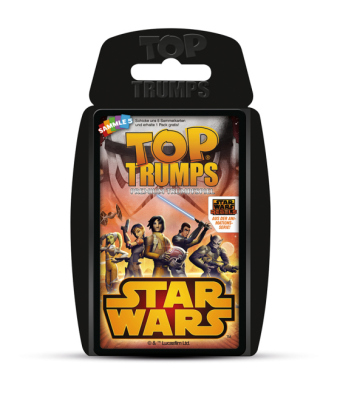 Top Trumps (Quartettspiel), Star Wars Rebels