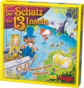 Der Schatz der 13 Inseln (Kinderspiel) Cover