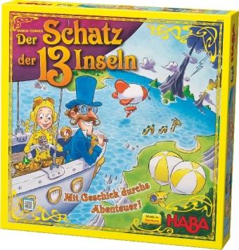 Der Schatz der 13 Inseln (Kinderspiel)