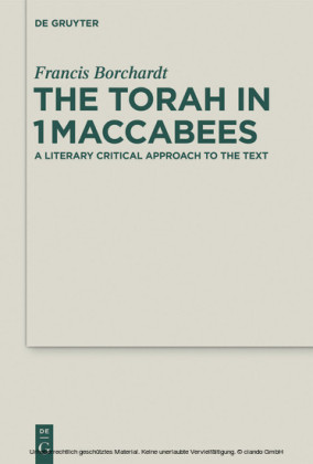 The Torah in 1Maccabees