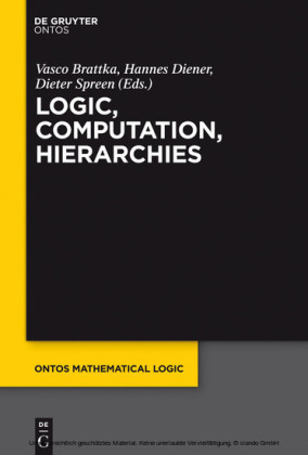 Logic, Computation, Hierarchies