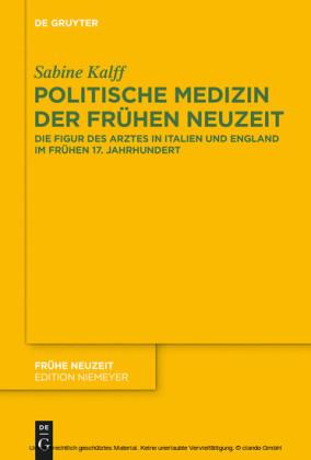 Politische Medizin der Frühen Neuzeit