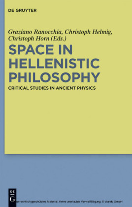 Space in Hellenistic Philosophy